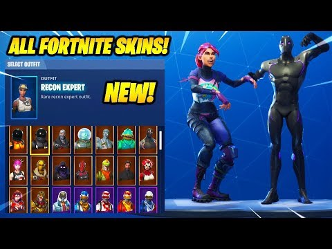 "*NEW* ""Vivacious"" Dance With Leaked & All Popular Fortnite Skins..!"