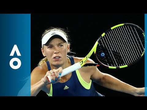 Kiki Bertens v Caroline Wozniacki match highlights (3R)   Australian Open 2018