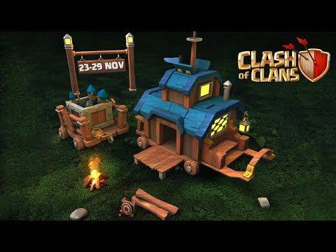 Upcoming 23 Nov - 29 Nov Clan Games | Clash of Clans - COC