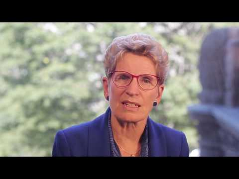 Ontario Premier Message for Global Village Festival 2017