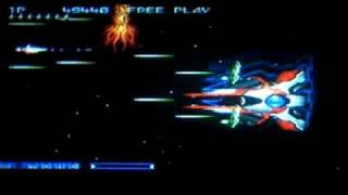 Gradius Collection - Gradius Gaiden Stage 8 Boss Rush Loop 8 Hardest ( Old Version )