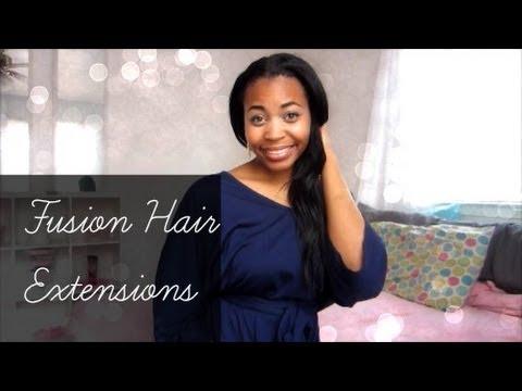 How I Do Fusion Hair Extensions & Tutorial ≡bunnylanterns