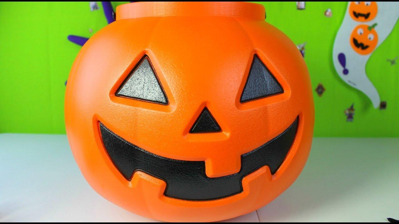 Halloween Calabaza Gigante Con Golosinas Halloween Giant Pumpkin - Calabaza-hallowen