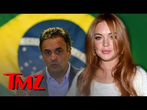 Lindsay Lohan Endorses a Presidential Candidate | TMZ