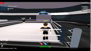 CM Punk vs CM Punk Roblox rage quit