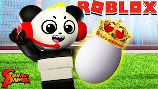 I ADOPTED A ROYAL EGG! Let's Play Roblox Adopt Me with Combo Panda