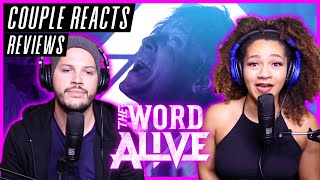 "COUPLE REACTS - The Word Alive ""MONOMANIA"" - REACTION / REVIEW"