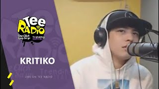 Kritiko performs ''Kababata'' Live on Tee Radio