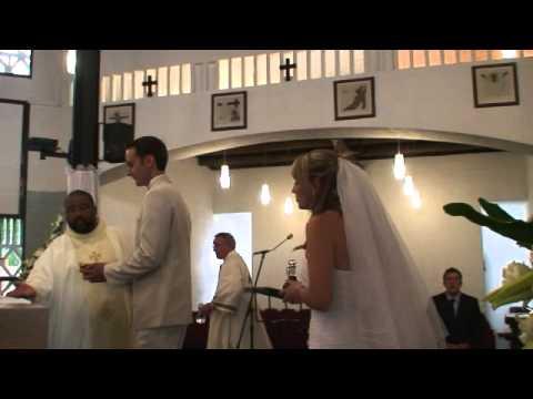 Akustika Sings Ukuthula At Michael And Michele's Wedding