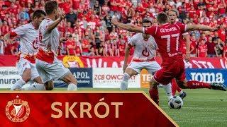 Skrót meczu Widzew Łódź - Znicz Pruszków 1:1