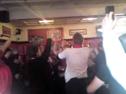 The Trafford pub post Premiership Celebrations