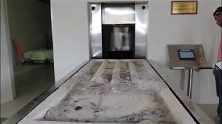 Electrical crematorium equipment fully automatic incinerator High efficient system 380V 50HZ