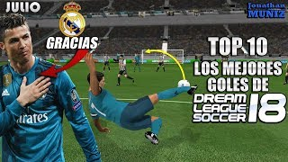 Hola amigos les traigo los mejores goles de Dream League soccer 18....