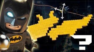 Lego Batman is the most plausible Batman of them all | Cape Gliding & Grapple Gun | Physics vs Film