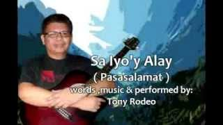 Pasasalamat - Tony Rodeo