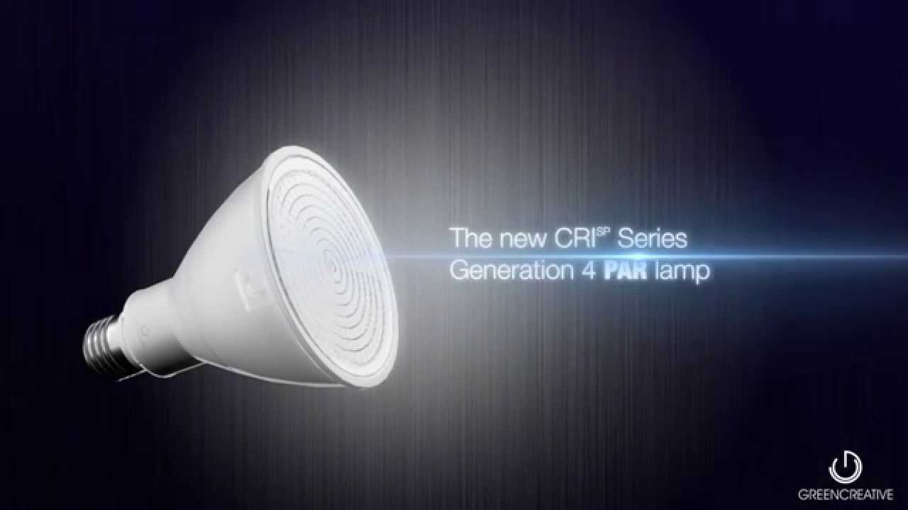 GREEN CREATIVE GENERATION 4 PAR LED LAMP SERIES