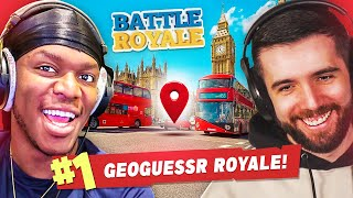 SIDEMEN GEOGUESSR BATTLE ROYALE!