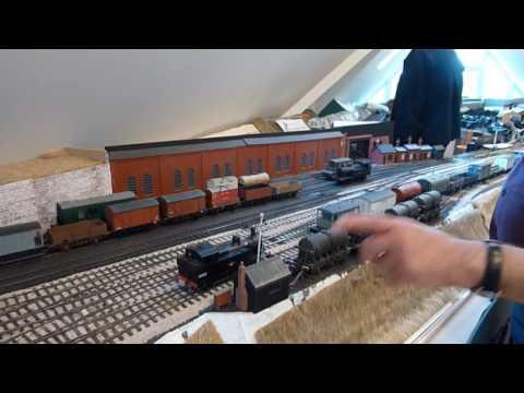 Bath Green Park S&D Model Railway