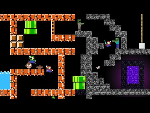 Level UP: Mario's Maze Mayhem (ALL EPISODES)