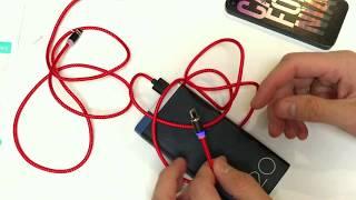 Лучший аналог официального Lightning кабеля от Apple. Магнитный кабель lightning, type-c, micro usb