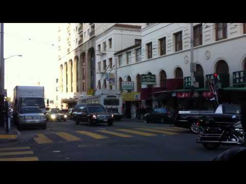 Strange Parade In Chinatown, San Francisco, CA