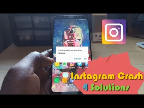 Fix Unfortunately Instagram Has Stopped on Android-4 Solutions