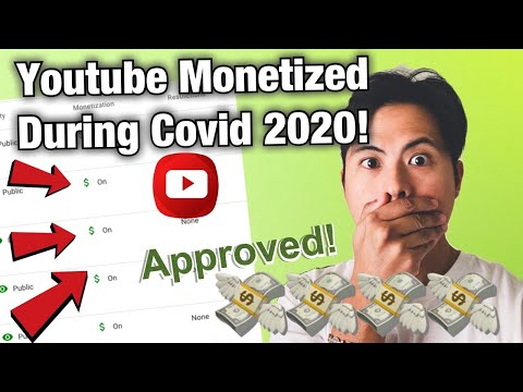 HOW TO GET MONETIZED FAST DURING COVID 2020 ? YOUTUBE MONETIZATION APPROVED ! TIPS AND HACKS