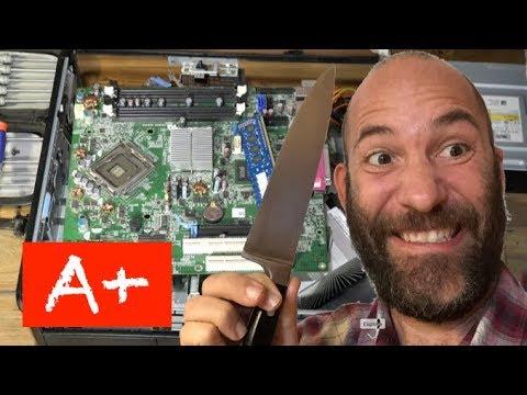 A+ Desktop PC Autopsy