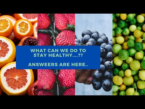 What Can you do to Stay Healthy | Take care of your Body It's the only place you have to live