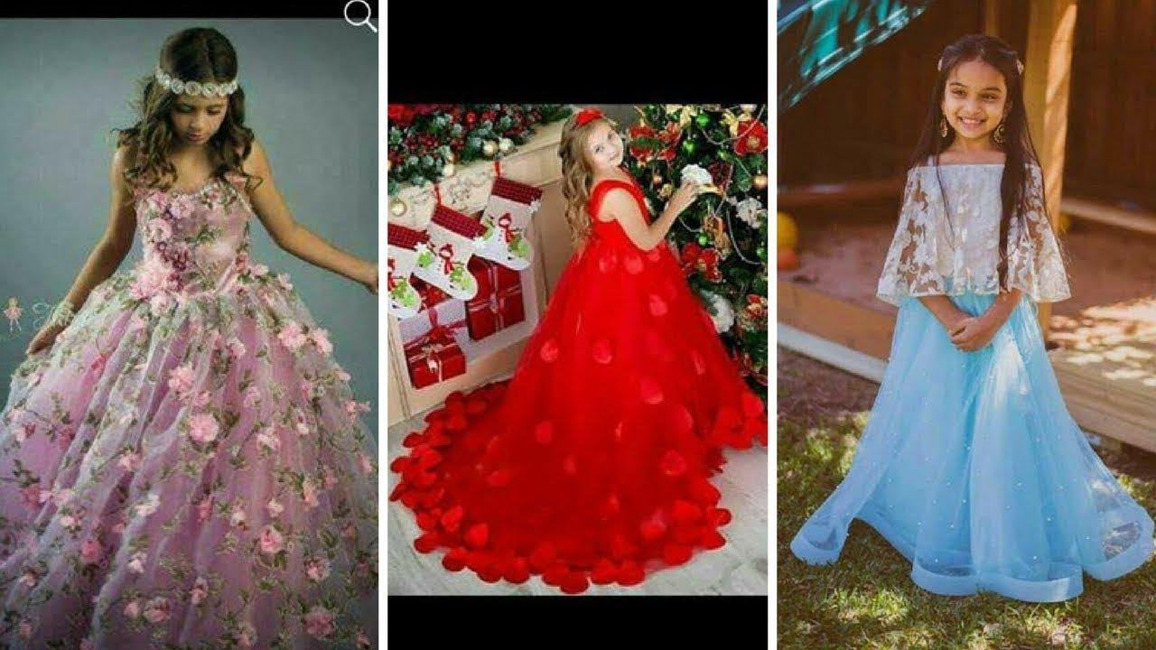 d433c3868c00 2018# Latest Kids Party Wear Dress Designs // #Stylish & Fancy Collection #✈Online  dress collection