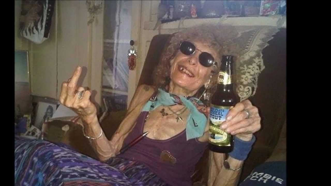 фото супер старушка