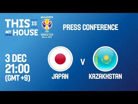 Japan v Kazakhstan - Press Conference - FIBA Basketball World Cup 2019 Asian Qualifiers