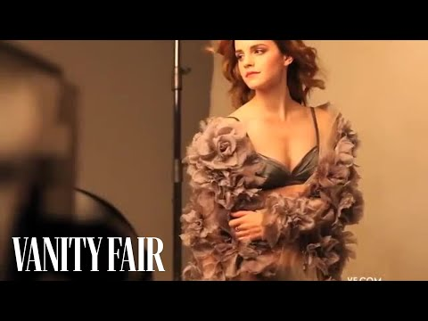 Thumbnail: Emma Watson Strikes a Pose In Her Vanity Fair Photo Shoot with Patrick Demarchelier