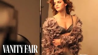Emma Watson Strikes a Pose In Her Vanity Fair Photo Shoot with Patrick Demarchelier