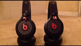 Beats by dr. Dre Mixr Comparison (Real vs. Fake)