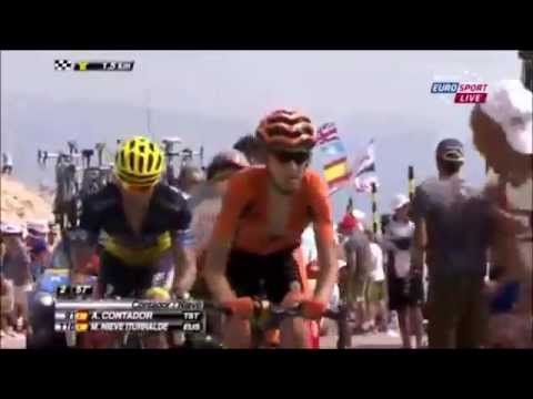 Tour De France 2013 Stage 15 Mont Ventoux Youtube