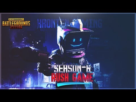 PUBG MOBILE | AIRDROP HUNTING AND RUSH GAMEPLAY😍 SEASON 6 NE