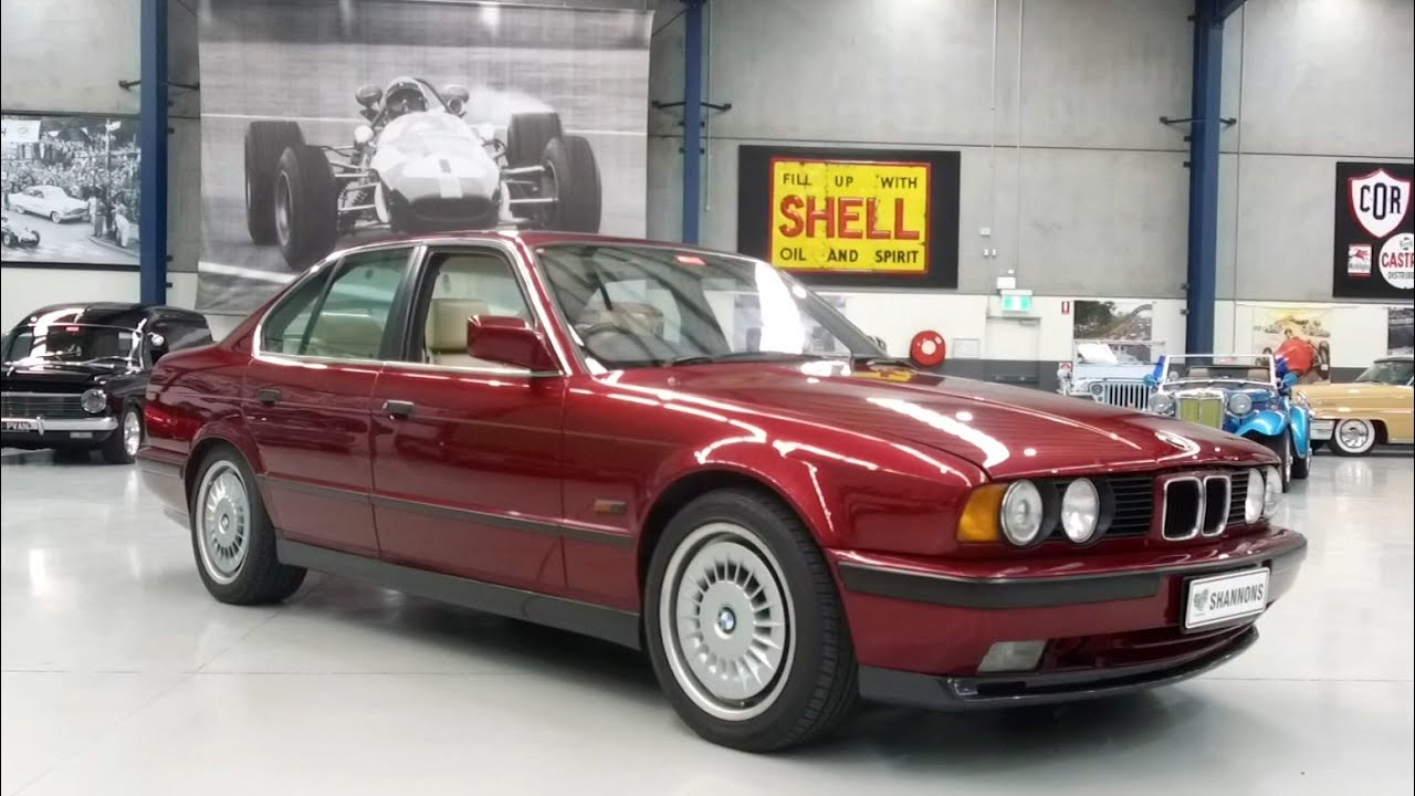 1990 BMW M5 E34 Saloon - 2020 Shannons Winter Timed Online Auction