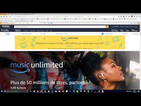 Amazon Music Unlimited : Le nouveau service de Streaming