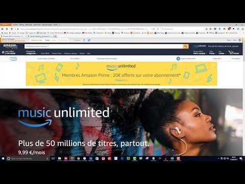 Amazon Music Unlimited : Le nouveau service de Streaming