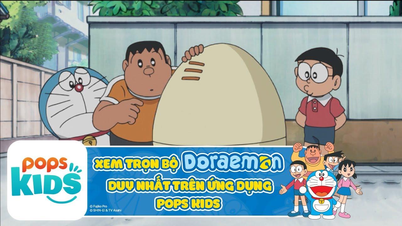 [S6] Hoạt Hình Doraemon - Shizuka Trong Quả Trứng - Xem trọn bộ DORAEMON trên ỨNG DỤNG POPS Kids