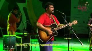 """Lokada kaalaji madatheenanti"" song by Raghu Dixit @ 53rd Bengaluru Ganesh Utsava..!!!"