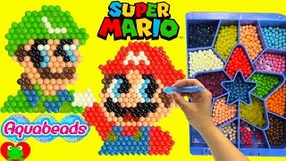 Super Mario Aquabeads and Surprises