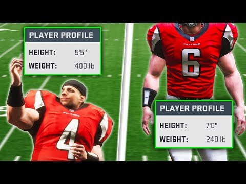 Does Height And Weight Matter For Your Quarterback? (Madden 19 Experiment)