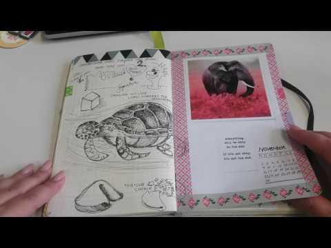 Video #4 Review Bullet Journal, Buch 2, deutsch