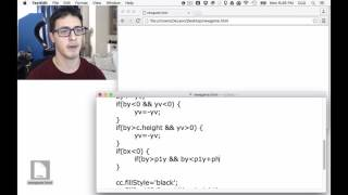 Coding an HTML5 Canvas Game with JS in 5 min 30 sec   YouTube