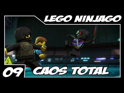 LEGO: Ninjago Nindroids - PSVITA - Parte 9 - Caos Total  [Legendado PT-BR]