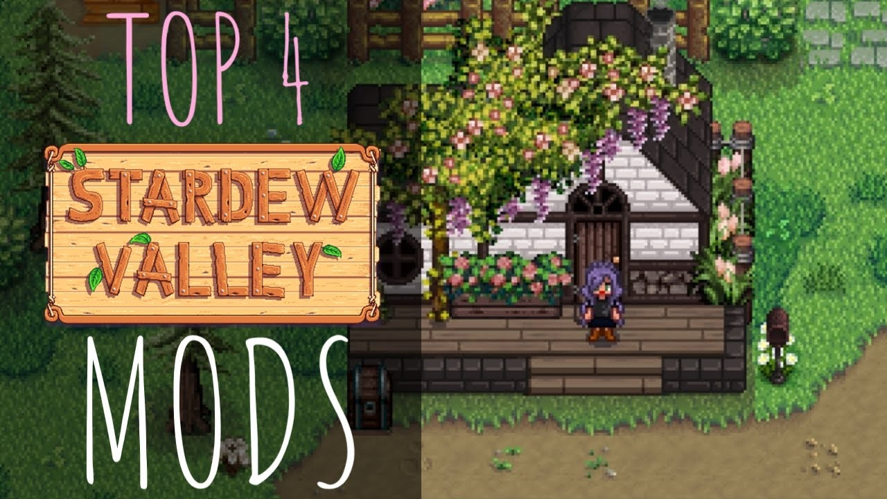 Stardew Valley: My Top 4 Mods for Update 1.4 - YouTube