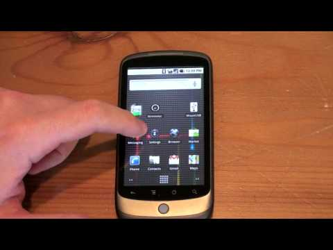 Android 2.1 on the Nexus One