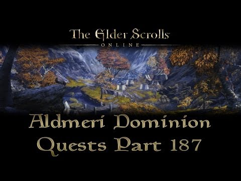 ESO - Aldmeri Dominion Quests - Part 187 - The Weight of Three Crowns [Final Quest]